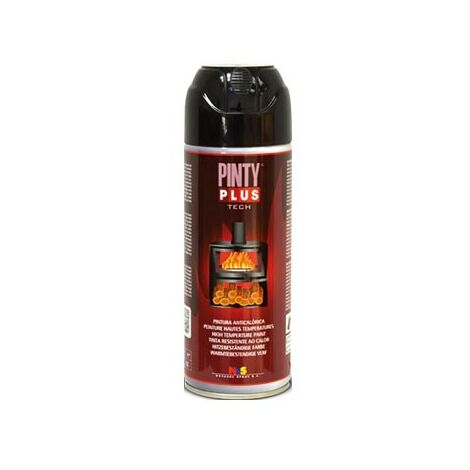 Pintura Spray Anticalor Negra