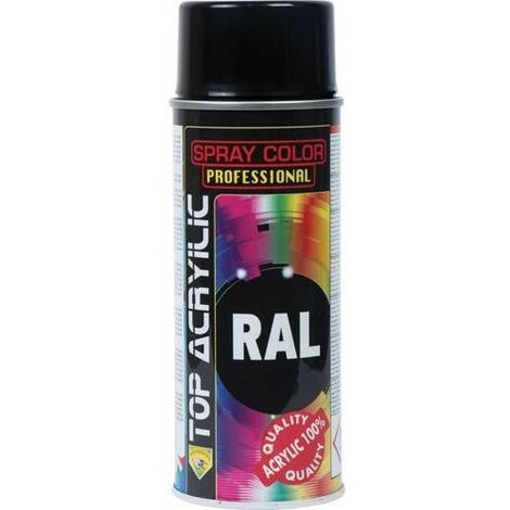 PINTURA SPRAY TOP RAL 9005 NEGRO MATE 400 90010 030