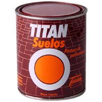 Pintura Suelos Rojo Ingles - Titan - 023055534 - 750 Ml