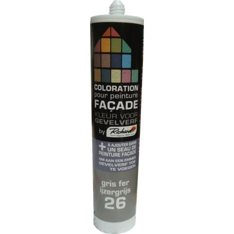 pintura tinte fachadas de hierro Richard Gray 450 gr - Gris fer