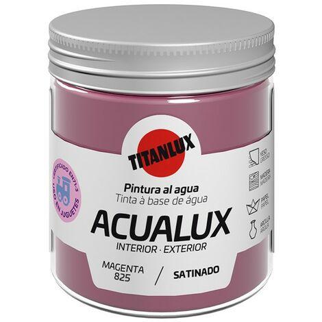 Pinturas al agua Acualux Colores Rojos-Rosas Titanlux