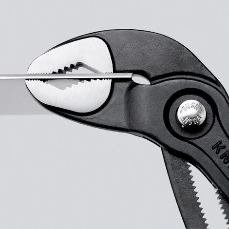Pinza regolabile cobra knipex manico in resina 8701
