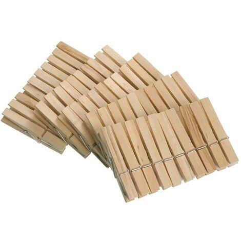 Pinzas de ropa madera
