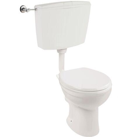 Piolo Stand-WC-Set, weiß