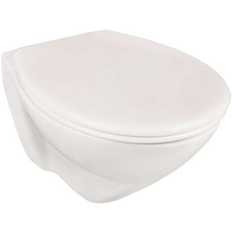 Piolo Wand-WC-Set mit Vorwandelement | weiß | Vorwandelement