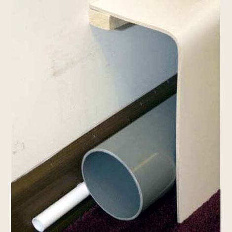 Pipe Boxing 150 x 300mm 90° Commercial