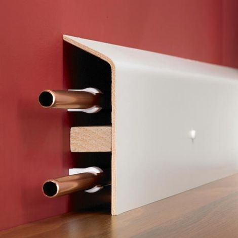 Pipe Boxing Riva Skirting - 5mm Thick - Lenght: 1250mm