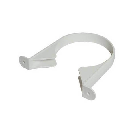 Pipe Clip 110mm Soil White