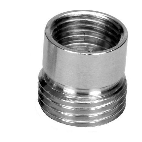 "Pipe Connection Reduction Fittings Chrome Female x Male 3/8""x1/2"""