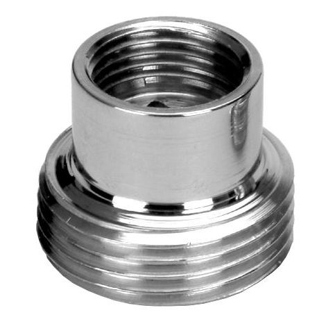 "Pipe Connection Reduction Fittings Chrome Female x Male 3/8""x3/4"""