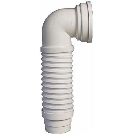 Pipe coudée extensible MULTIPIPE - Ø 93/100 mm L, 235 à 380 mm