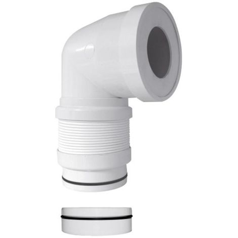 Pipe coudée souple extensible multi-diamètres D93/100