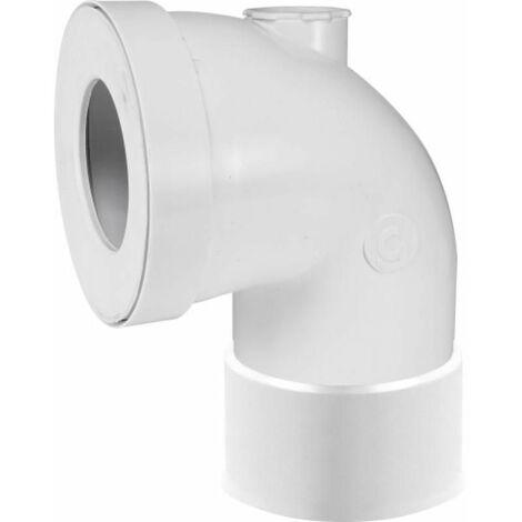 Pipe courte WC avec piquage Ø 100