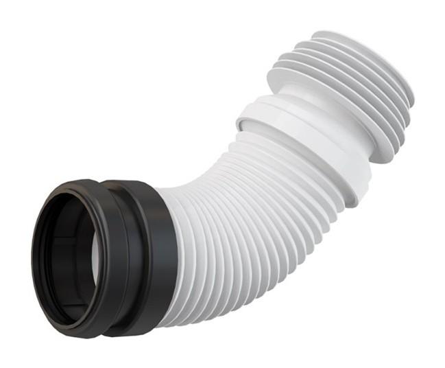 120 mm WC de 80 Alca Pipe de WC flexible et universelle Pour tubes de 100 110 mm