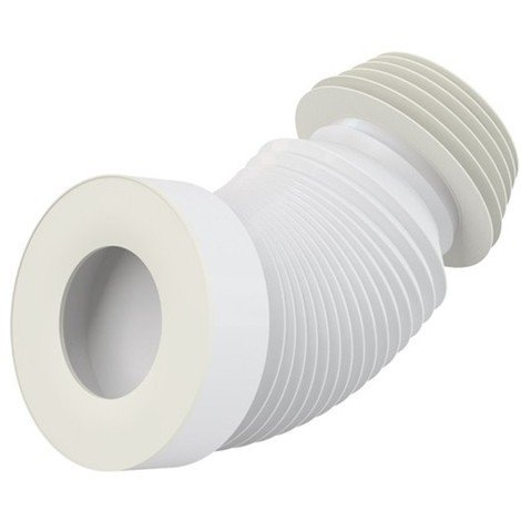 Pipe flexible WC - DN40 - Longueur de 200 à 520 mm A97S