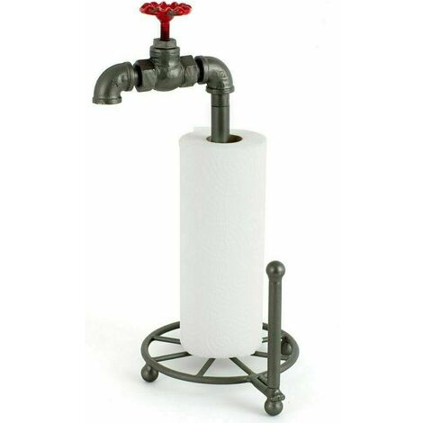 """main image of """"Pipe & Tap Kitchen / Toilet Roll Holder"""""""