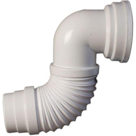 Pipe WC  Universelle Souple et extensible  270 à 570 mm Raccordement 93 à 100 mm