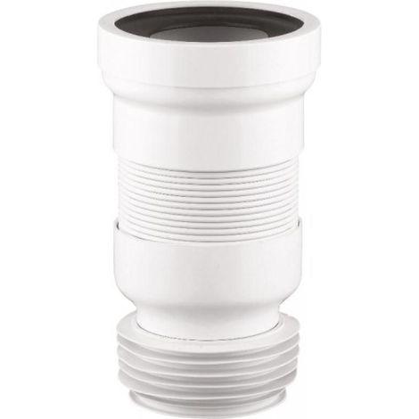 Pipe WC Waterflex articulée à ailette