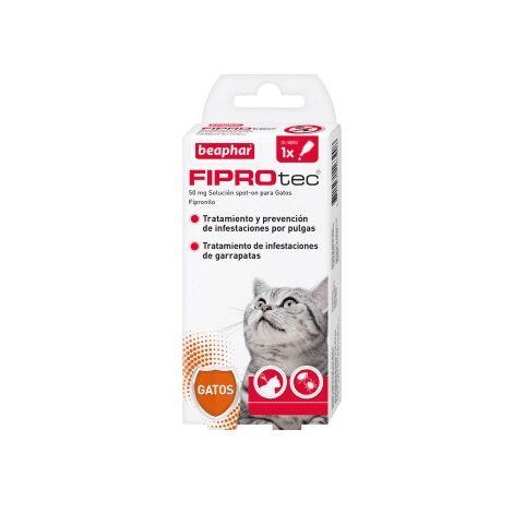Pipeta antiparasitaria Beaphar Fiprotec Spot On Gato - 1 pipeta