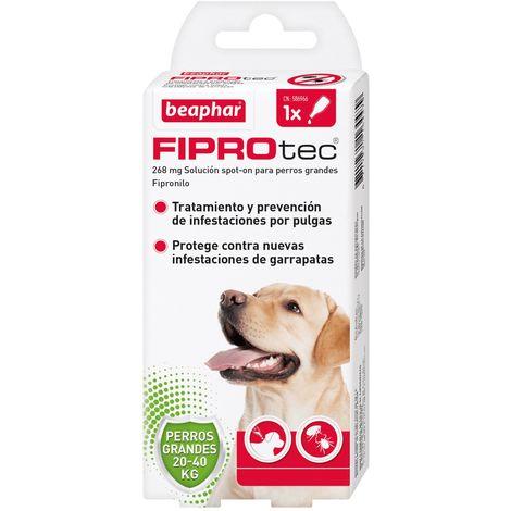 Pipeta antiparasitaria Beaphar Fiprotec Spot On Perros Grandes (20-40 kg) - 1 pipeta