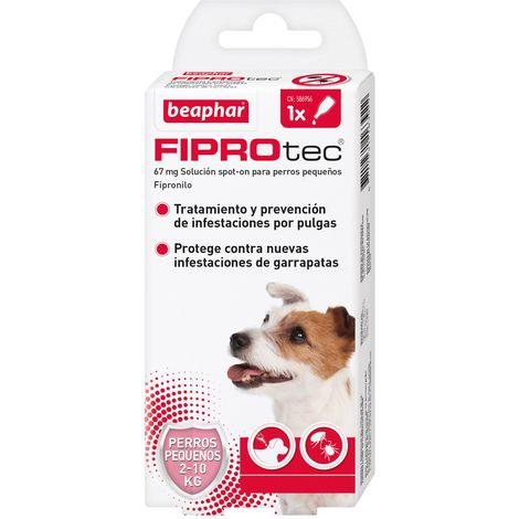 Pipeta antiparasitaria Beaphar Fiprotec Spot On Perros Pequeños (2-10 kg) - 1 pipeta