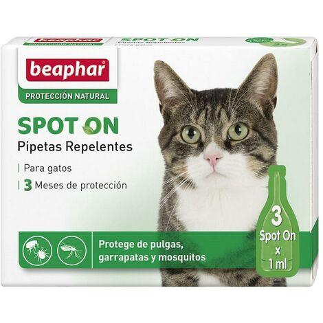 Pipetas Repulsivas Antiparasitarias Naturales Para Gatos