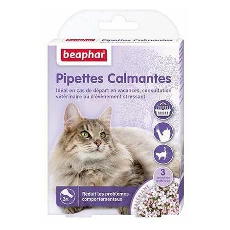 Pipettes calmantes pour chat, à base de valériane - 3 x 0,4 ml