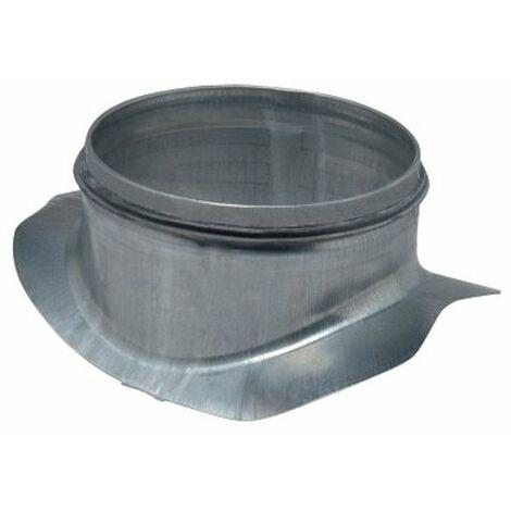 Piquage 90° circulaire à joints - De 200 à 125mm