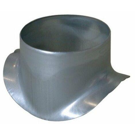 Piquage Equerre Circulaire : PEC 90° galva Ø 160/250mm
