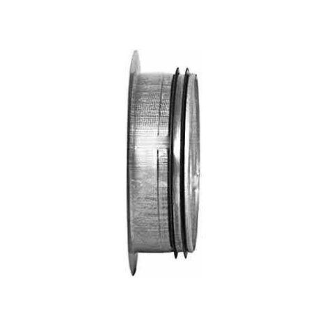Piquage plat Galva D80 à joints - ECONONAME - PPGALD80J