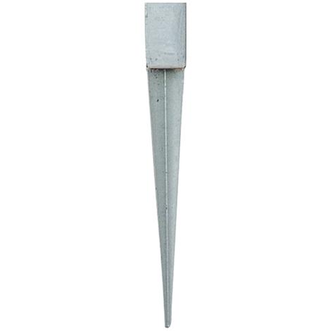 Piqueta metálica para poste de pérgola