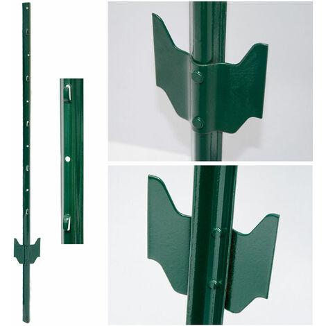 PIQUETS de métal pour soutenir grillages pour jardin | Hauteur 105 cm
