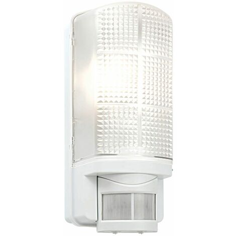 PIR 1lt wall IP44 60W by Washington Lighting