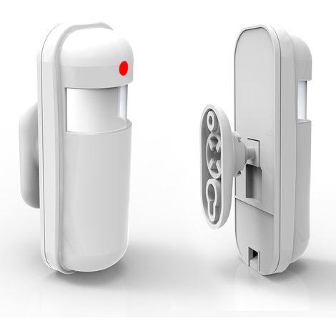 PIR infrarrojo pasivo del detector del sensor de movimiento inalambrico, sistema de alarma