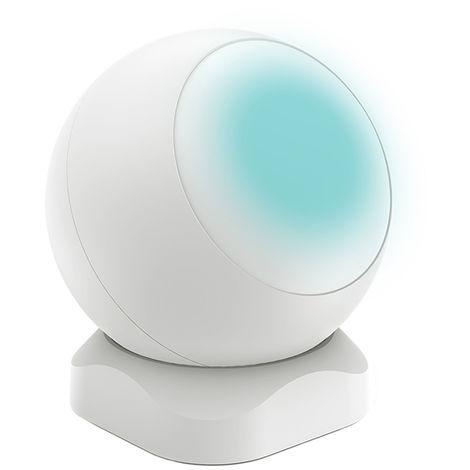 PIR sensor de infrarrojos del sensor infrarrojo del cuerpo humano en movimiento del sensor, alarma automatica de Hogares del sensor, blanca