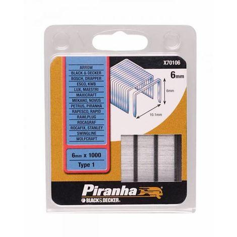 PIRANHA X70106 GRAFFETTE MM.6 PZ.1000 (1 CF)