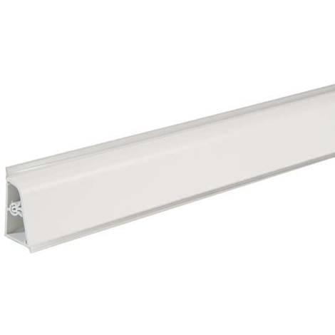 Pircher alzatina per top cucina 400x4 cm bianco | Bianco - 316456