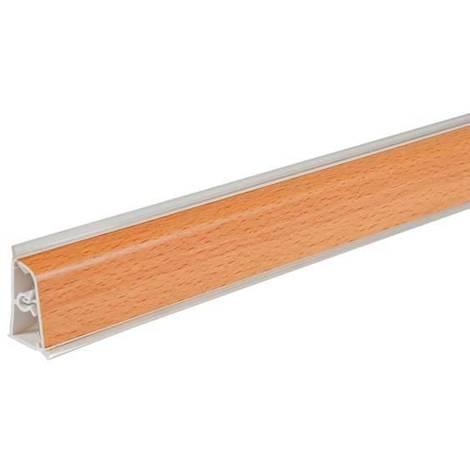 Pircher alzatina per top cucina 400x4 cm faggio | legno