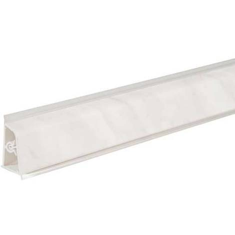 Pircher alzatina per top cucina 61x4 cm marmo Carrara | marmo