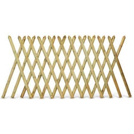 Pircher recinzione incrociata estensibile for Recinzioni in legno obi