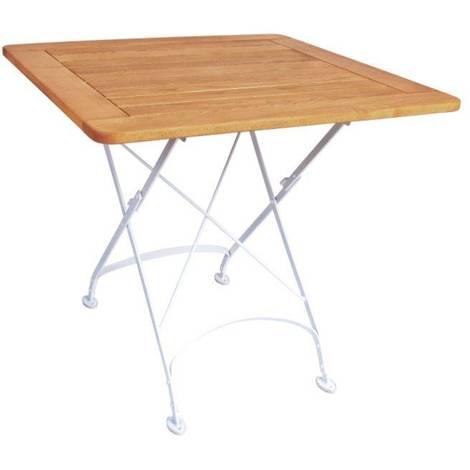 Pircher tavolo Flor 80x80 cm quadrato in legno di Robinia | Legno