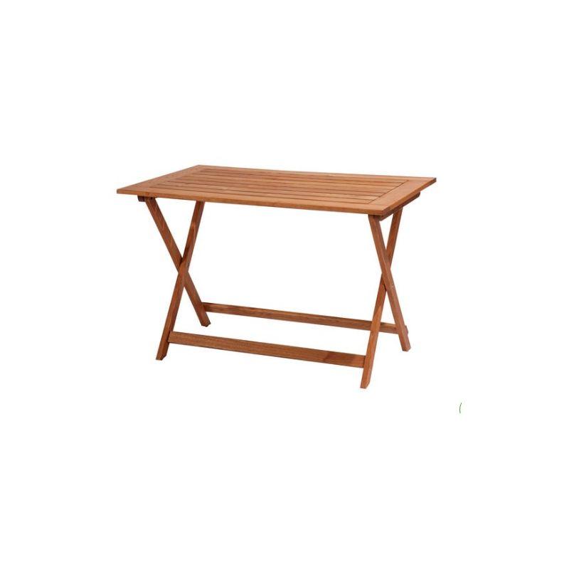 Pircher tavolo pieghevole Flor 110x70 cm in legno di robinia | Legno