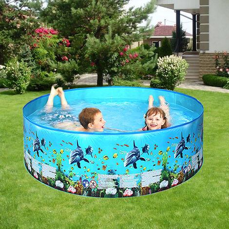 Piscina al aire libre para ninos, piscinas plegables portatiles de forma redonda