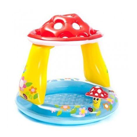 Piscina Baby Gonfiabile Con Fungo Parasole Per Bambini INTEX 57114