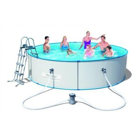 Piscina Chapa 360X90Cm Depuradora Hydrium Splasher Bestway