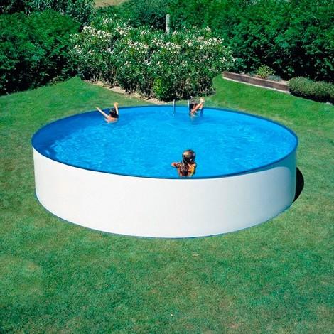 Piscina de acero redonda Lanzarote Gre