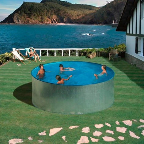 Piscina de acero redonda Tenerife Gre