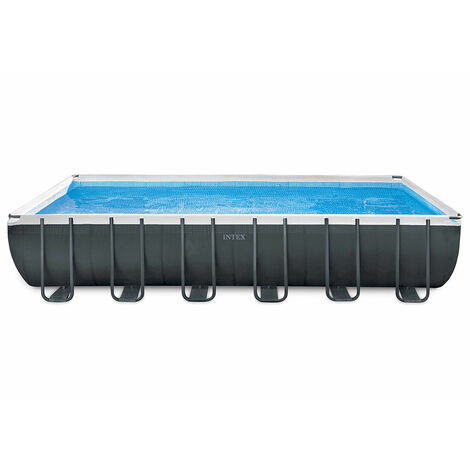 Piscina desmontable rectangular Ultra XTR Frame 549X274X132 + depuradora (Intex 26356np)