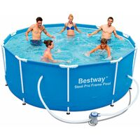 Piscina Desmontable Tubular Bestway Steel Pro 305x100 Cm