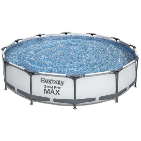 Piscina desmontable tubular Bestway Steel Pro MAX 366x76cm con filtro de cartucho